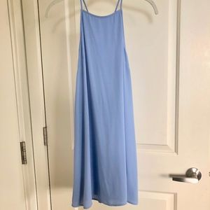 Lush Periwinkle Summer Dress